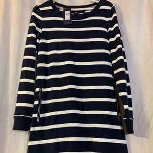 Tommy Hilfiger striped dresswith long sleeve